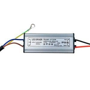 Image 5 - LED נהג 10W 20W 30W 50W 300mA/600MA/900MA/1500MA כוח אספקת הארה LED נהג אור שנאי IP66 עמיד למים מתאם