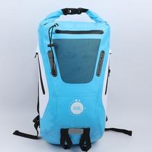 Waterproof bag Backpack PVC Super 30L Dry Swimming River trekking Camping Outdoor