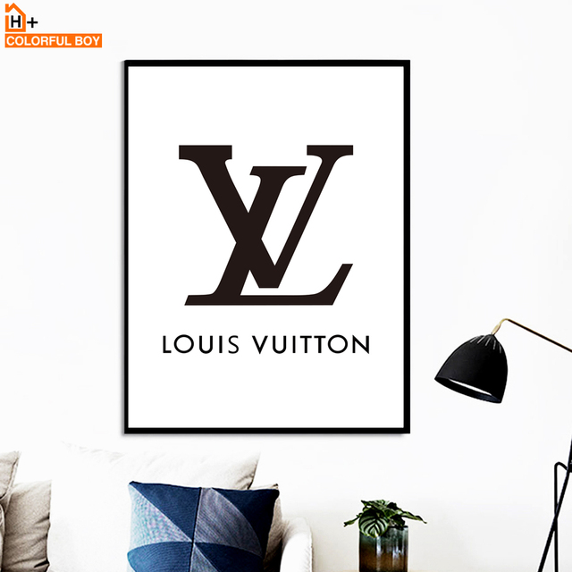 Lv Quotes Canvas Art Wall Painting Black White Posters Prints Pop Paintings