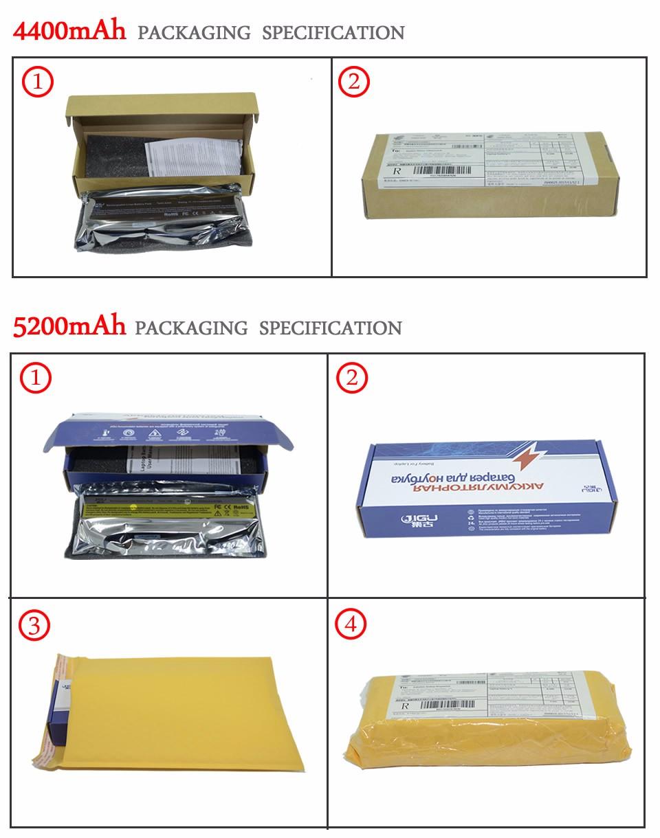JIGU Laptop Battery For Samsung AA-PB9NS6B PB9NC6B R580 R540 R519 R525 R430 R530 RV511 RV411 RV508 R510 R528 Aa Pb9ns6b 6CELLS 24