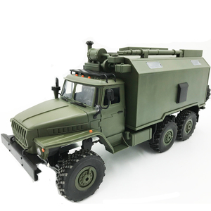 RBR/C WPL B36K 1/16 Soviet Ural remote control military command vehicle 6-wheel drive off-road remote control car