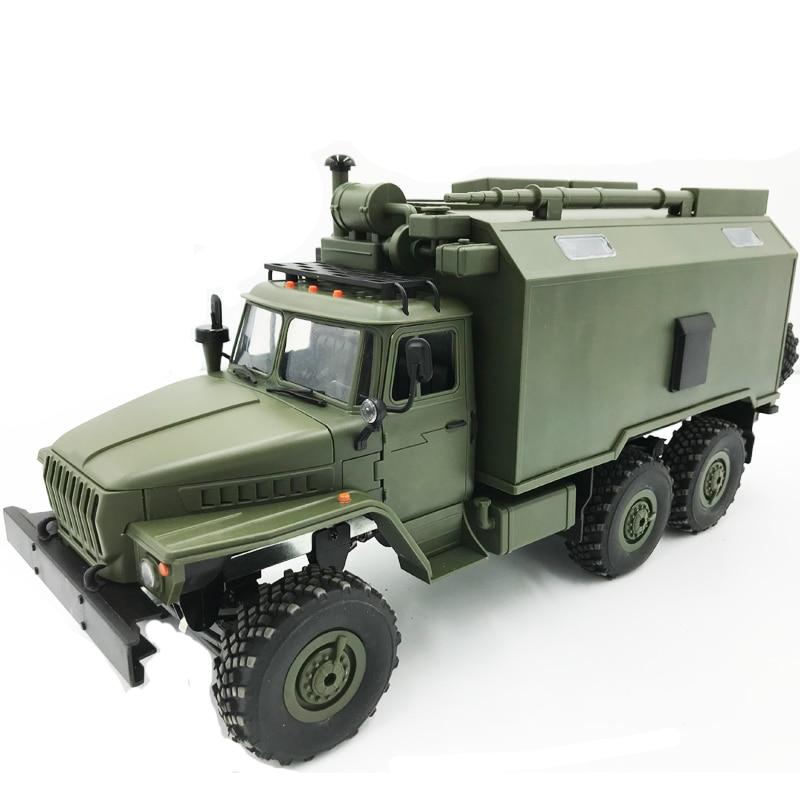WPL B36K 1/16 Soviet Ural remote control military command truck 6 wheel drive off-road remote control car remote control car