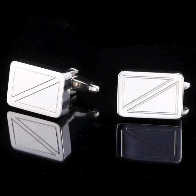 316L Stainless Steel Cuff Links For Men's Business Suits ,High-End Custom French Shirt Cuff Links For Men's Wedding Party Gift