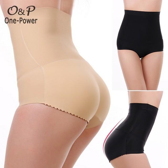 33f7a791725 2015 Women Ladies Body Shaper pants Plus Size Ass Padded Underwear High  Waist Women s Control Pants Seamless Slimming Pants  k