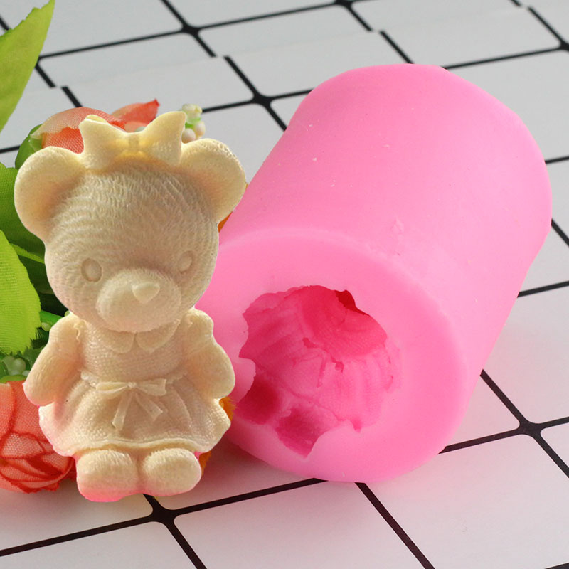 Arts,crafts & Sewing Easter Rabbit Silicone Mold 3d Craft Soap Molds Fondant Cake Decorating Tools Candy Chocolate Gumpaste Resin Clay Candle Moulds