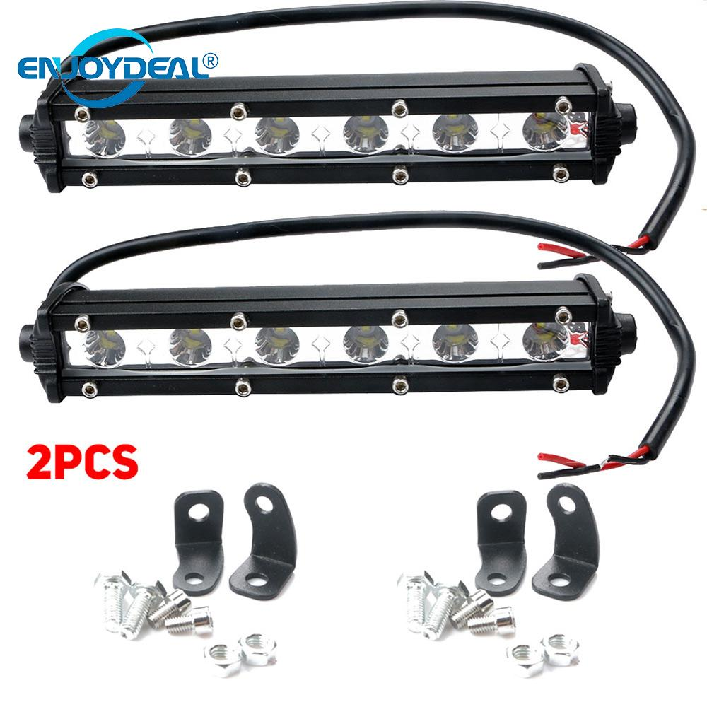 18W/36W White LED Spotlight Bar Car Spot Light Off road