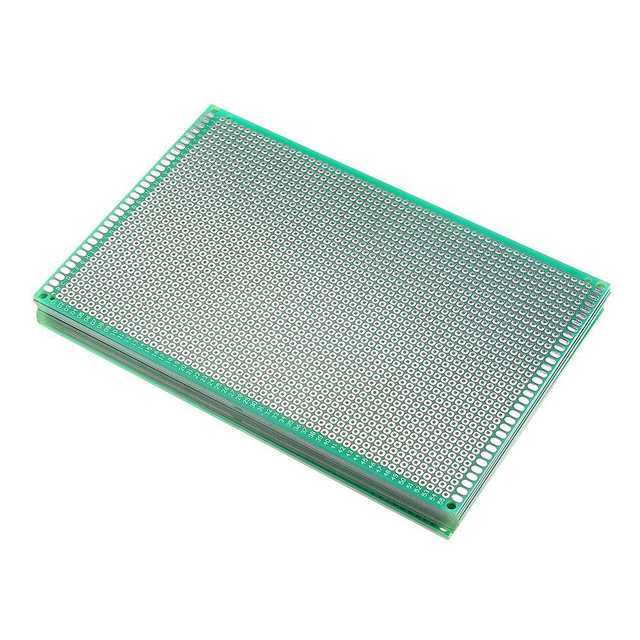 10pcs 10x15cm FR-4 2.54mm Single Side DIY Prototype PCB Printed Circuit Board Passive Components