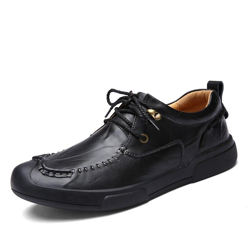 Marca Flats Homens Couro Up Zapatos Sapatos Moda Lace Casuais Da Negócios Shoes Luxo Aleader brown burgundy De Preto Oxfords Black Hombres Mens vpqzw0