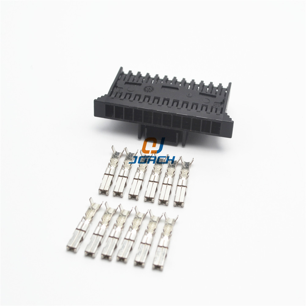 hight resolution of 5 sets 12 pin fci wire harness connector delphi plastic housing plug 211pc122s0017 in connectors from lights lighting on aliexpress com alibaba group