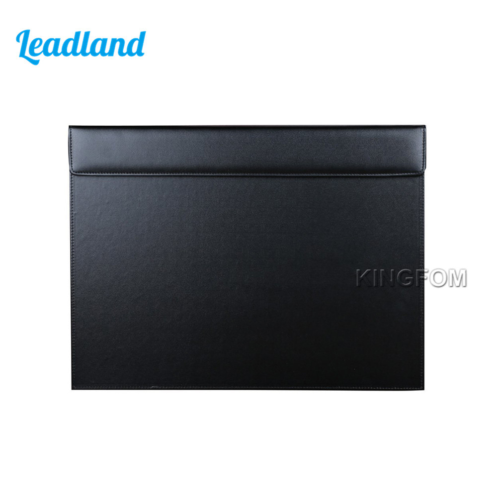 A3 Desk File Paper Clipboard Drawing & Writing Board Desk Pad Desktop Mat PU Leather For Office Supplies