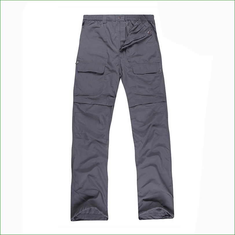 OT03P Men Summer&Spring Quick Drying Hiking&Trekking Pants Male Removable Camping Pants & Outdoor Ultra-thin Trousers