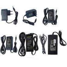 Адаптер светодиодный для светодиодного освесветильник, постоянный ток 12 В, 1 А, 2 А, 3 А, 5 А, 6 А, 8 А, 10 А, трансформаторы переменного тока 110-240 В в ...