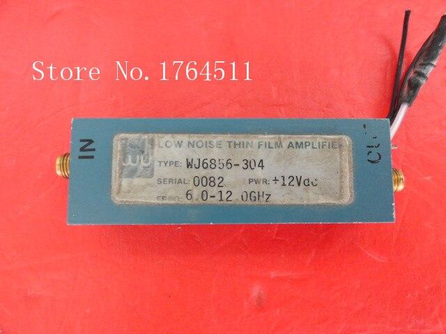 [BELLA] WJ WJ6856-304 6.0-12.0GHz 12V SMA Supply Amplifier