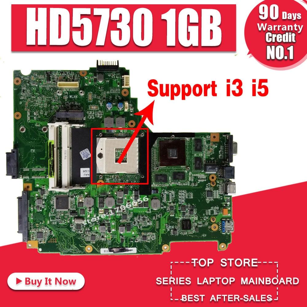N61JV Motherboard REV:2.0 1GB For ASUS N61J N61JV N61JQ N61JA Laptop Motherboard N61JV Mainboard N61JV Motherboard Test 100% OK