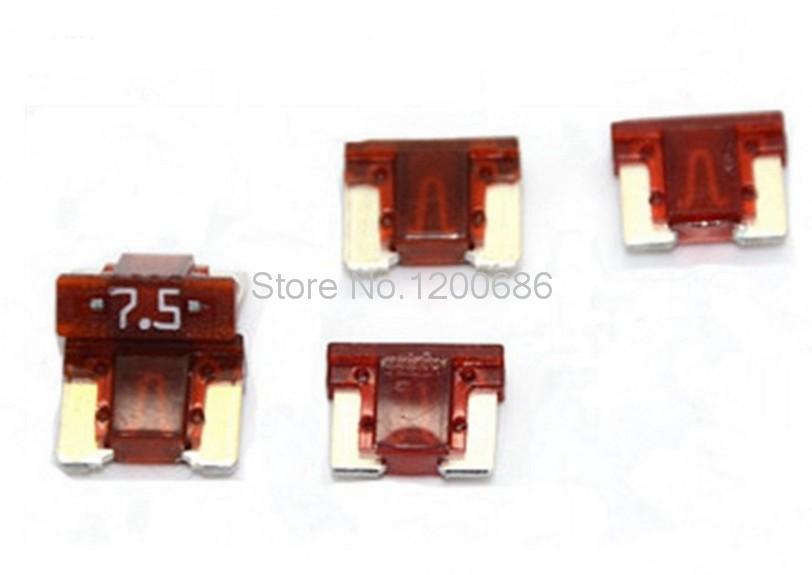 Car Auto 7.5A Micro Mini Fuse Assorted Set Kit