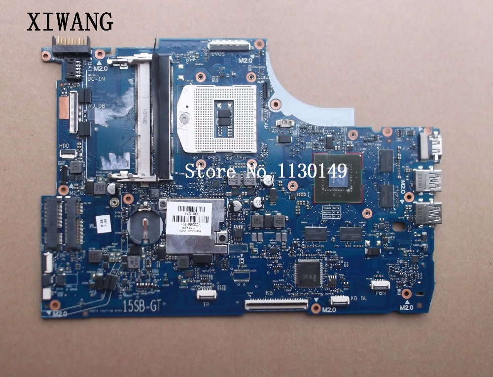 741653-501 741653-001 free shipping For HP FOR Envy 15-J105TX 15-J Laptop Motherboard HM86 DDR3L GT750M 2GB 100% test good741653-501 741653-001 free shipping For HP FOR Envy 15-J105TX 15-J Laptop Motherboard HM86 DDR3L GT750M 2GB 100% test good