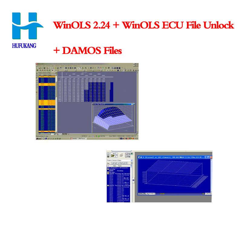 WinOLS Version V2 24 with Unlock Patch for KESS / KTAG /ktm