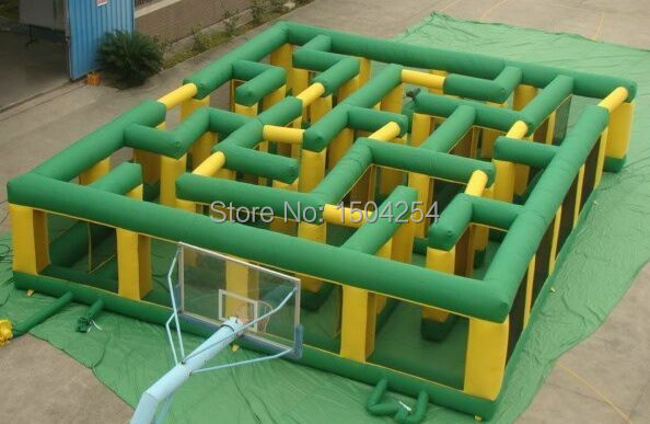40ft x 40ft inflatable maze sports games giant inflatable maze for both kids and adults inflatable games