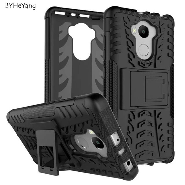 reputable site ee35f c6982 US $2.68 6% OFF|Xiaomi redmi 4 4 Pro Case TPU & PC Silicone Dual Armor Back  Cover with Stand Holder Hard Case For 5.0'' Xiaomi Redmi 4 Pro Prime-in ...
