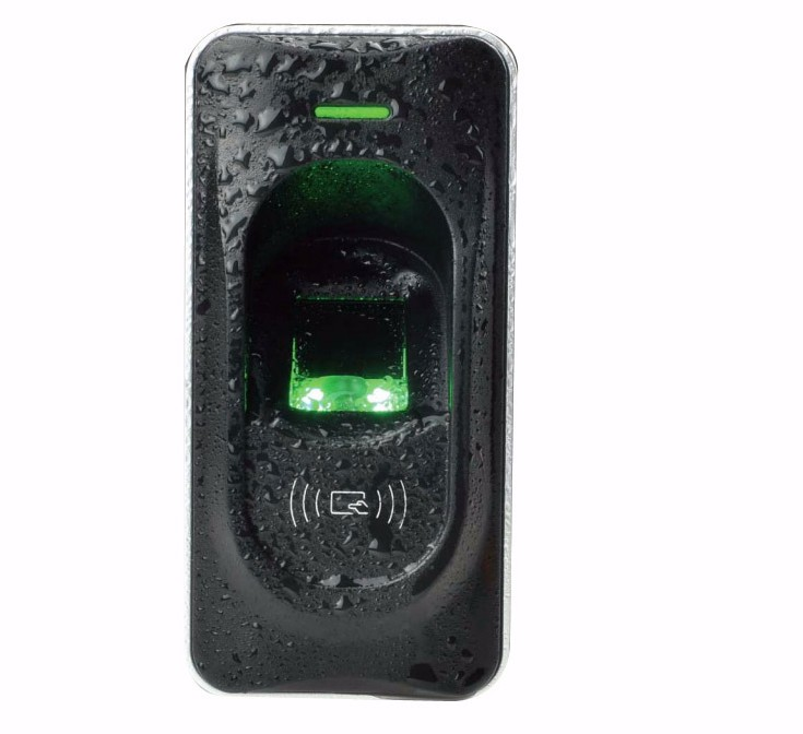 FR1200 Waterproof fingerprint reader exit reader for F18, F2 and F8 access control system Fingerprint Door Access Control mf2300 f2