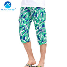 Gailang Brand Shorts Summer Beach Swimwear Trunks Men Boardshorts Active Boxer Short