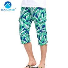 Gailang Brand Shorts Summer Beach Swimwear Trunks Men Boardshorts Active Boxer Short
