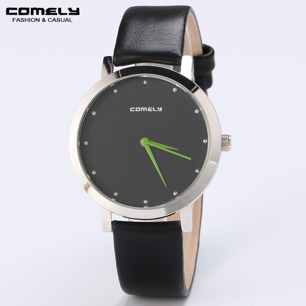 New Brand Men's Fashion Leather Strap Watch Alloy Case Casual Classic Luxury Army Military Waterproof Analog Quartz Wristwatches nobda fashion brand leather strap casual