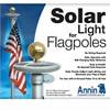 26LED Solar Flagpole Lights Solar Flag Lights Umbrella Lights Camping Lights Tents Lights Emergency Lights
