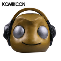 Hot Game OW Lucio Mask Cosplay Latex Props Full Head Cover Helmet Mask Halloween Costume Accessories