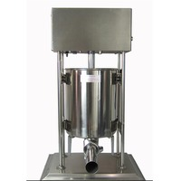 Free Shipping By DHL 1pc 15L Stainless Steel Electric Sausage Stuffer Sausage Filling Machine