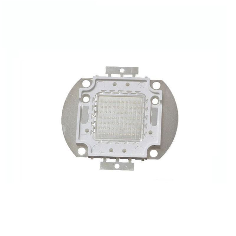 1X high quality integrated UV ultra violet purple <font><b>led</b></font> 420-<font><b>430nm</b></font> 20W/30W/50W/70W/100W <font><b>led</b></font> light source free shipping image