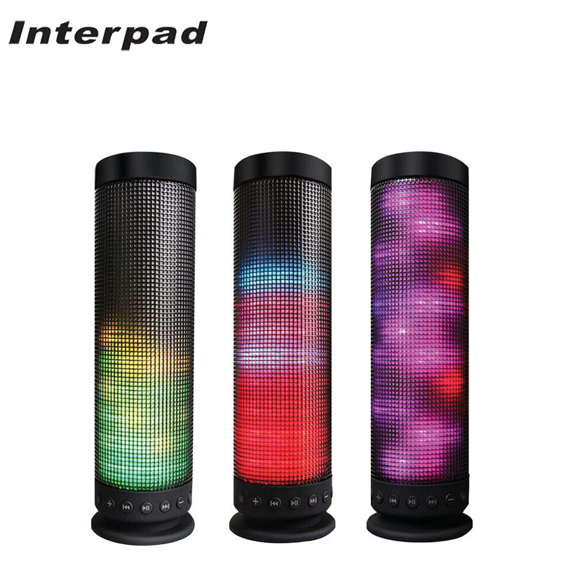 2018 Interpad Wireless Bluetooth Speaker HIFI Stereo Loudspeaker Built-in Mic Support TF Card Handsfree MP3 Player For Xiaomi newest original xiaomi bluetooth speaker wireless stereo mini portable mp3 player for iphone samsung handsfree support tf aux