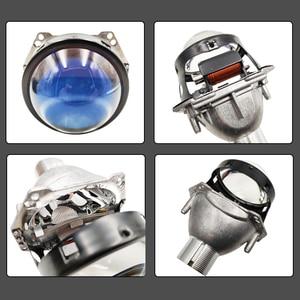 Image 5 - 3.0 inch H4 Hella 5 Bi xenon Projector lens Retrofit Car Headlight fit for D2S D2H xenon kit bulb car assembly headlamp modify
