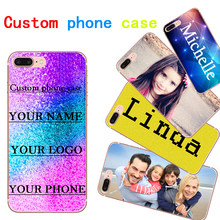 Custom Photo phone Case for Huawei Honor 4A 4C 4X 5C 5X Soft TPU Custom Printed phone Cover For Huawei Honor 6A 7 7i Phone cases(China)