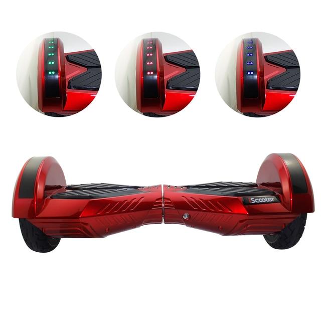 3 cores Hoverboard 8 Polegada Bluetooth skate 2 Rodas Equilíbrio Scooter  elétrico Com Marquise Para Desporto 8c4342039d7