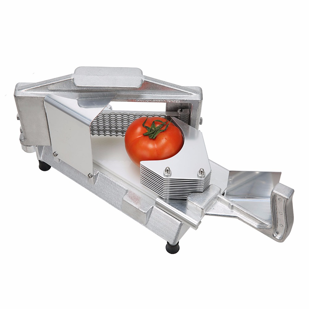 high quality nsf listing cast aluminum frame thickness commercial tomato slicer kitchen tools mx00414