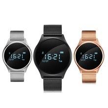 Оригинальный M7 круглый Bluetooth Smart часы крови Давление и монитор сердечного ритма sport умный Браслет для андроид iOS PK K88H