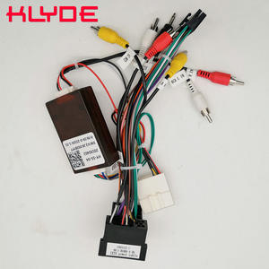 KLYDE Power-Harness-Adapter Car-Stereo Santa-Fe Kia Sorento Sportage/hyundai Radio-Wire