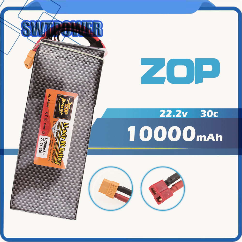 6S Lipo 22.2V 10000Mah Lithium Battery EC5 or T or XT60 XT90 plug For RC Helicopter Qudcopter Drone Car Boat 6s lipo 22 2v 10000mah lithium battery ec5 or t or xt60 xt90 plug for rc helicopter qudcopter drone car boat