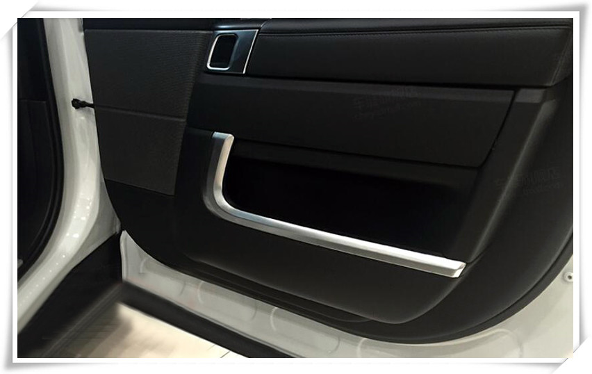Fit For Range Rover Sport L405 L494 14-15 Sill Scuff Plate Guard Door Entry Pad