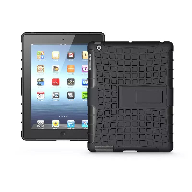 Premium Armor Stand Case for iPad 2 3 4 Cover funda Capa Para Coque,Hybrid TPU+PC Back Cover for Apple iPad 2 3 4 Case 9.7inch e reader case for onyx boox 601 3g case cover coque shell funda hulle custodie