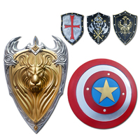 Weapon Zelda Shield Anime Cosplay for Captain America and Royal Sparta Cross Rome Dragon Kirin Shield Helloween Costume Adult