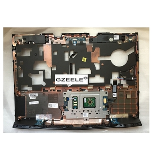 """Image 2 - GZEELE new for Dell Alienware M14X R1 R2 14"""" Palmrest Cover touchpad upper case Assembly 3JV63 R1W3W topcase keyboard bezel CASE"""