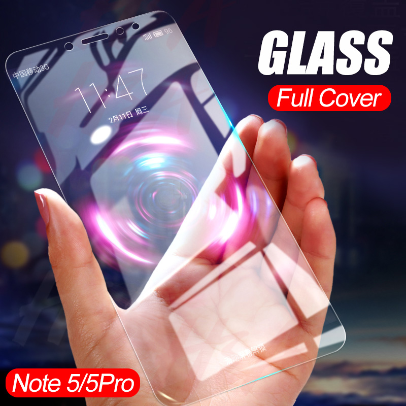 H&a 2Pcs/lot Full Tempered Glass For Xiaomi Redmi Notice 5 Professional 6 Display Protector Protecting Movie For Redmi 5 Plus Notice 5 Glass
