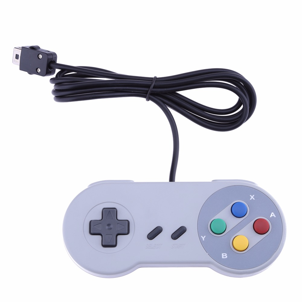 Classic Mini Console Game Controller Gamepad Joystick Control Pad for Nintendo SNES System