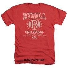 a80552e0e8a Men T shirt Grease Movie Rydell High Adult Heather Tee funny t-shirt  novelty tshirt