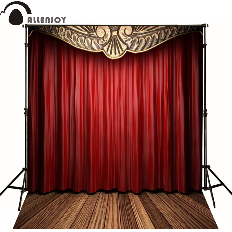 Red stage curtains promotion shop for promotional red - Cortinas para escenarios ...