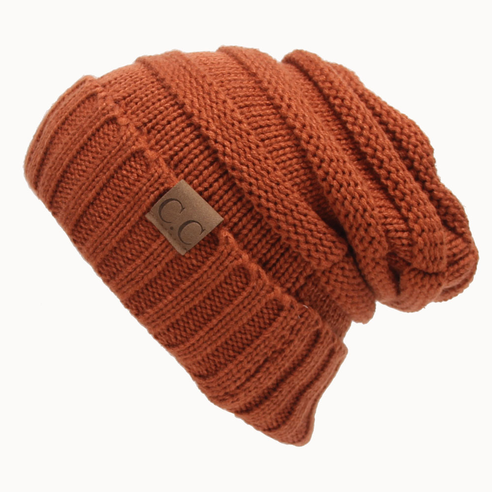 Women New Design Caps Twist Pattern Women Winter Hat Knitted Sweater Fashion beanie Hats For Women 13 colors gorros
