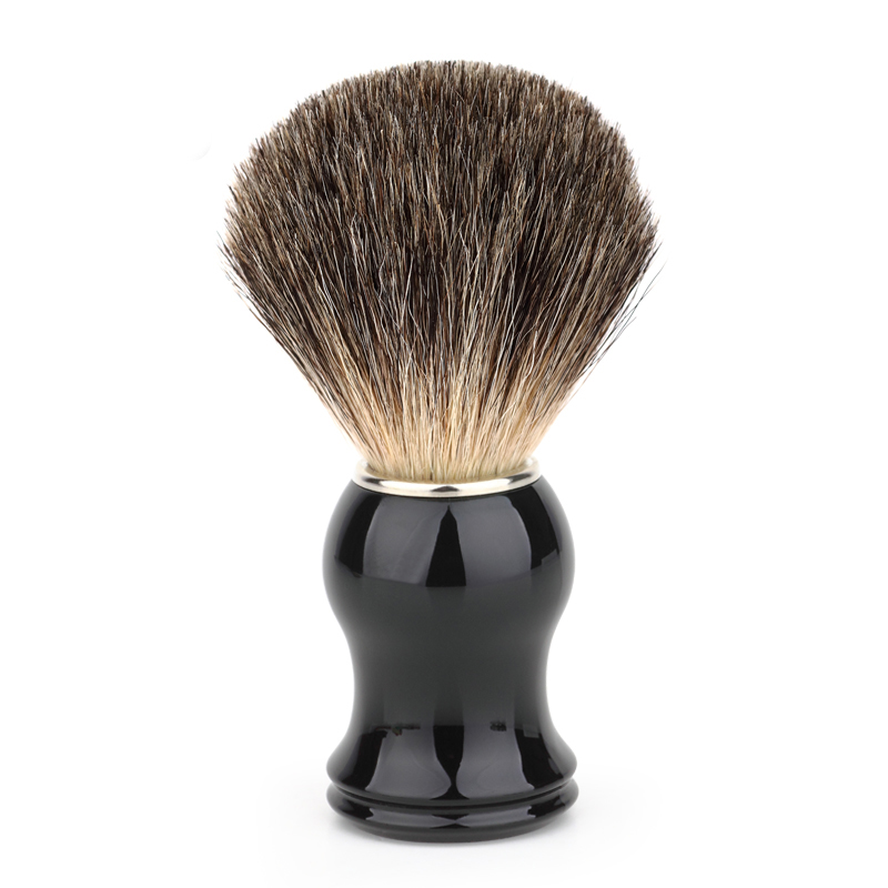 Badger Hair Men's Shaving Brush Barber Salon Men Facial Beard Cleaning Appliance Shave Tool Razor Brush Handle For Men