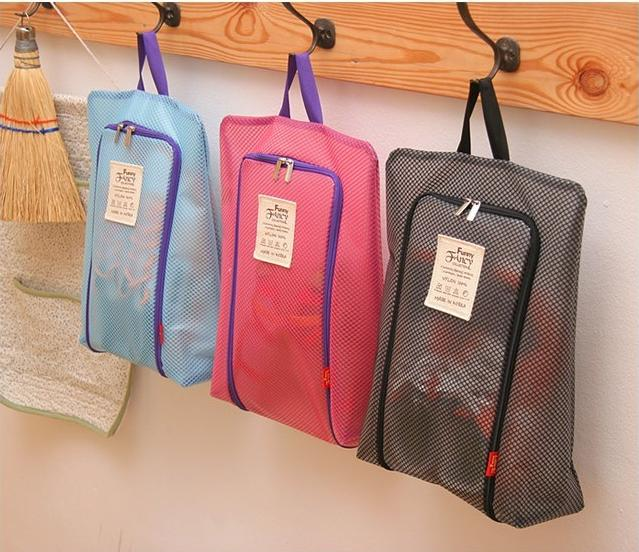 Manufacturer of new products travel large waterproof mesh shoes bag